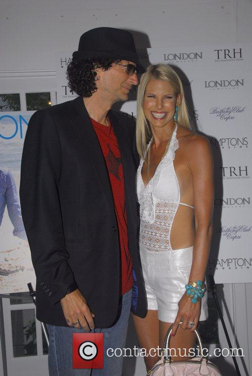 Howard Stern and Beth Ostrosky 6
