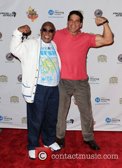 Sam Moore and Lou Ferrigno 6