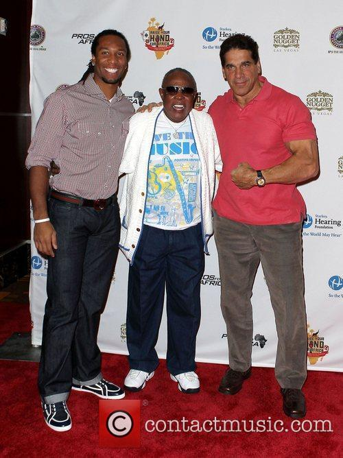 Sam Moore and Lou Ferrigno 7