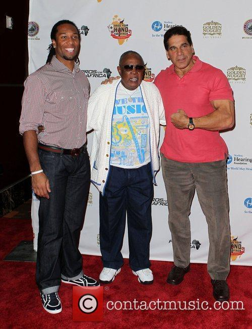 Sam Moore and Lou Ferrigno 5