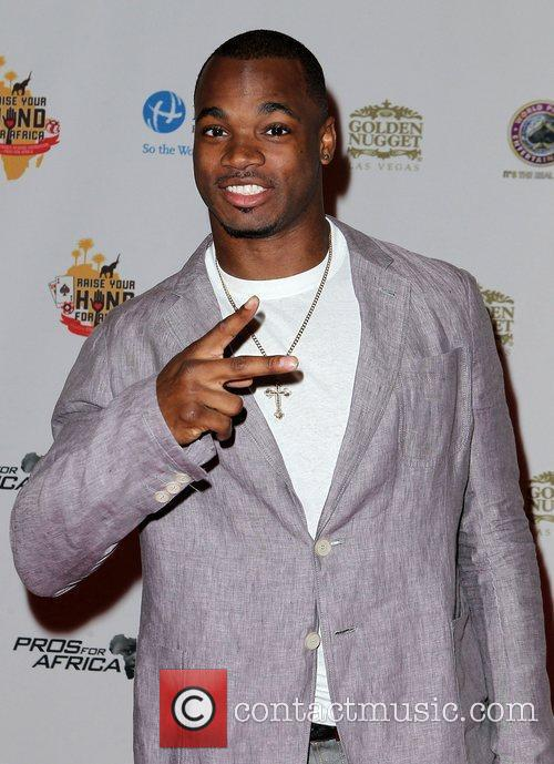 Adrian Peterson Celebrities, Poker Pros and Football Stars...