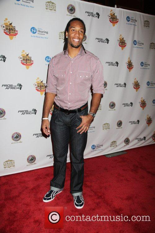 Larry Fitzgerald Celebrities, Poker Pros and Football Stars...