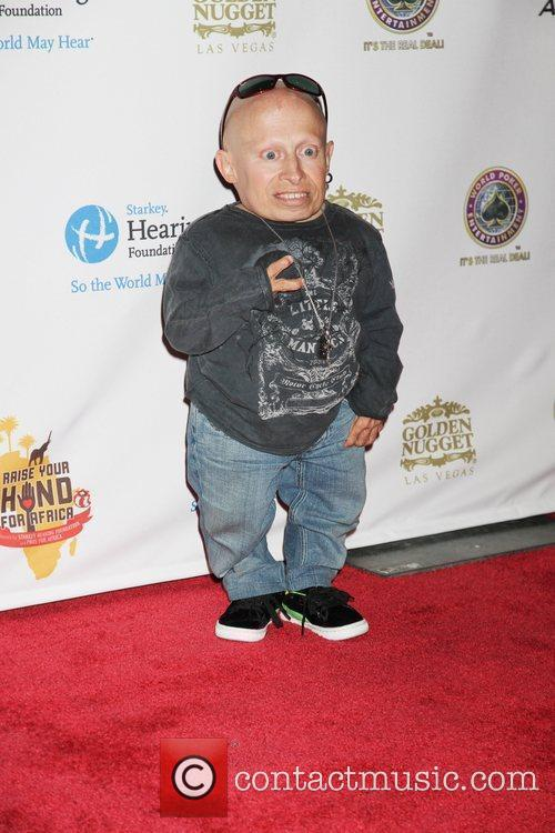 Verne Troyer (Mini Me) Celebrities, Poker Pros and...