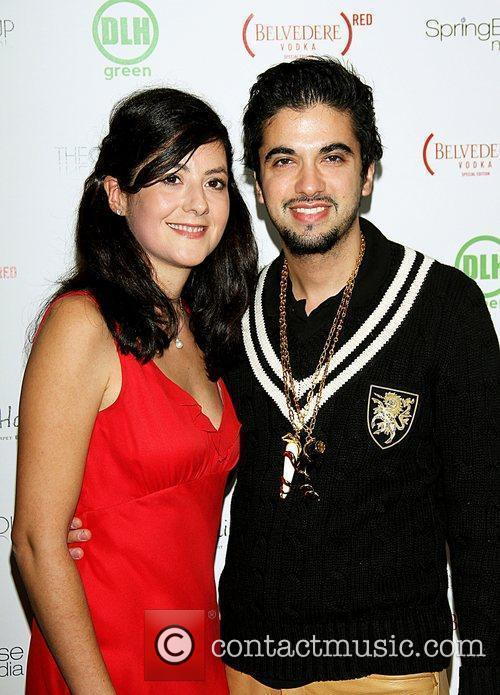 Ines Ferre and DJ Cassidy celebrities attend the...