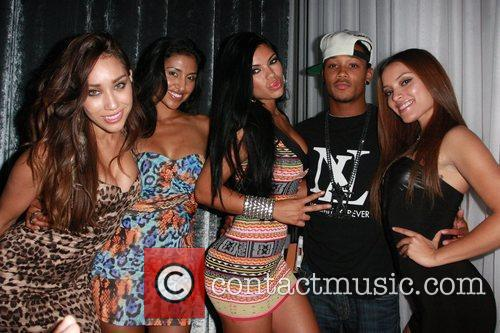 Romeo Miller and friends Kim Lee hosts a...