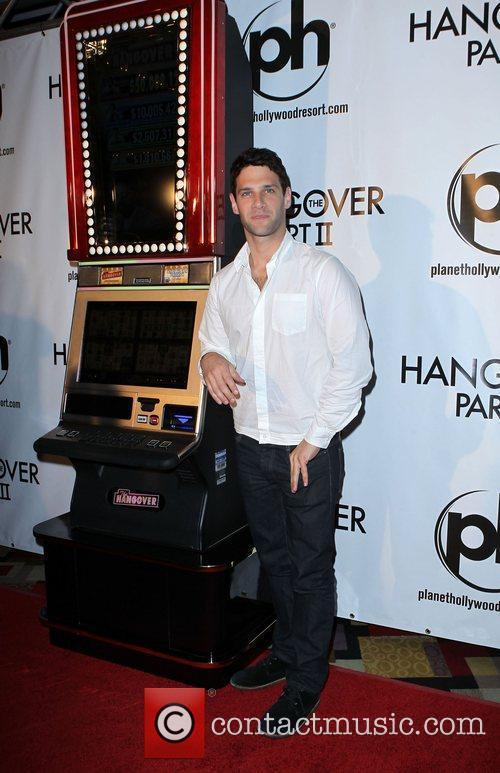 Justin Bartha The Hangover Part 2 Las Vegas...