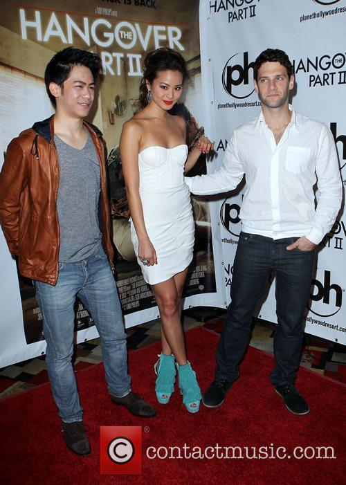 Mason Lee, Jamie Chung, Justin Bartha_  The...