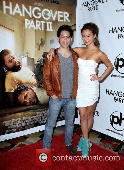 Mason Lee and Jamie Chung The Hangover Part...