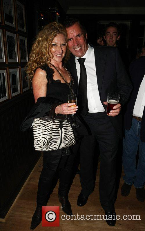 Kelly Hoppen, Duncan Bannatyne Guests arrive at the...