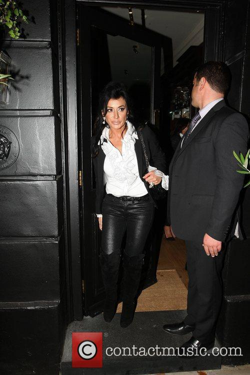 Nancy Dell'Olio Guests arrive at the relaunch of...