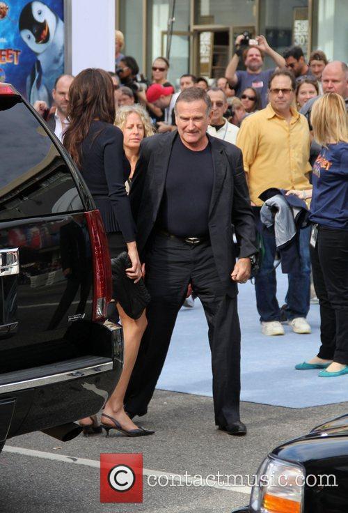 Robin Williams The World Premiere of Happy Feet...