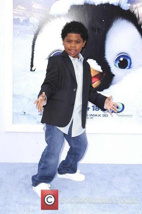 Benjamin Flores Jr,  at Warner Bros. World...