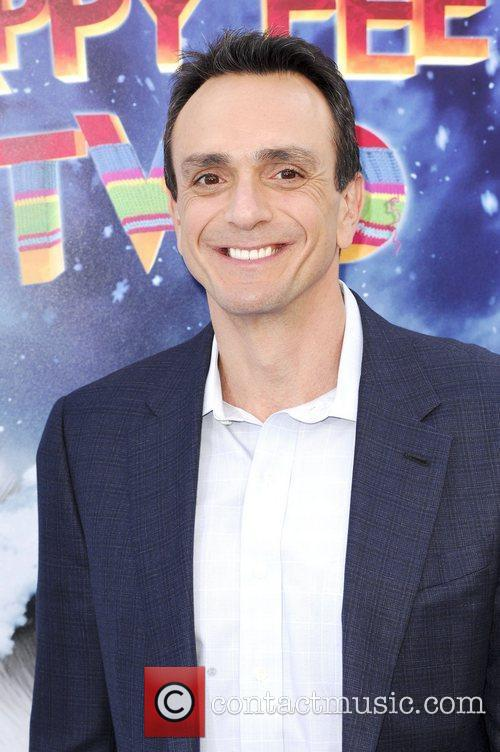 Hank Azaria and Grauman's Chinese Theatre 2