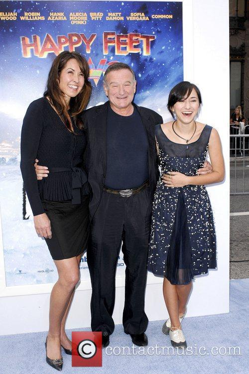 Holly Robinson Peete, Robin Williams, Zelda Williams and Grauman's Chinese Theatre 2