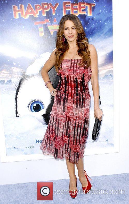 Sofia Vergara,  at Warner Bros. World Premiere...