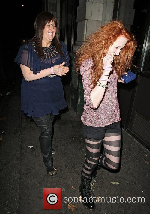 Janet Devlin and Sami Brookes X Factor finalists...