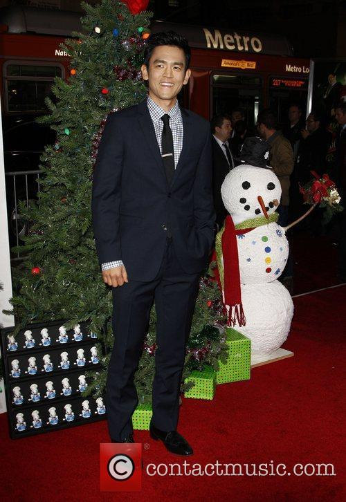 John Cho The Premiere of 'A Very Harold...