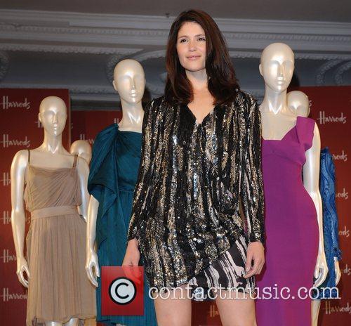 Gemma Arterton  at the Harrods Summer Sale...