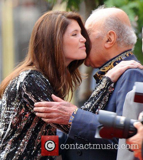 Gemma Arterton and Mohammed Al- Fayed  at...