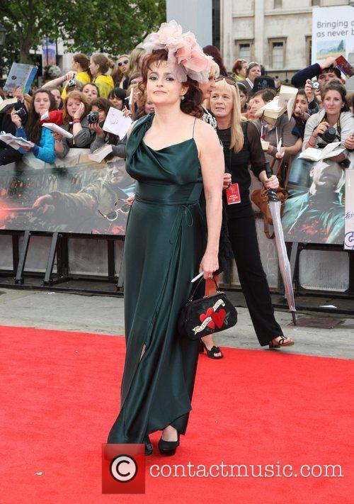 Helena Bonham Carter, Daniel Radcliffe and Emma Watson 1