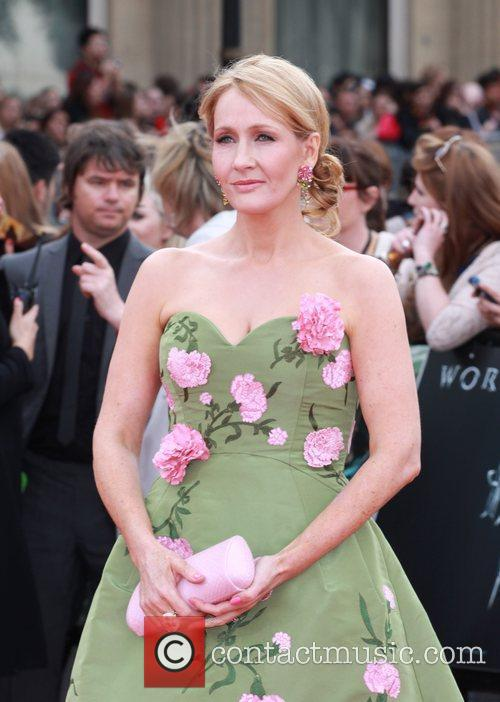 J. K. Rowling, Deathly Hallows Premiere