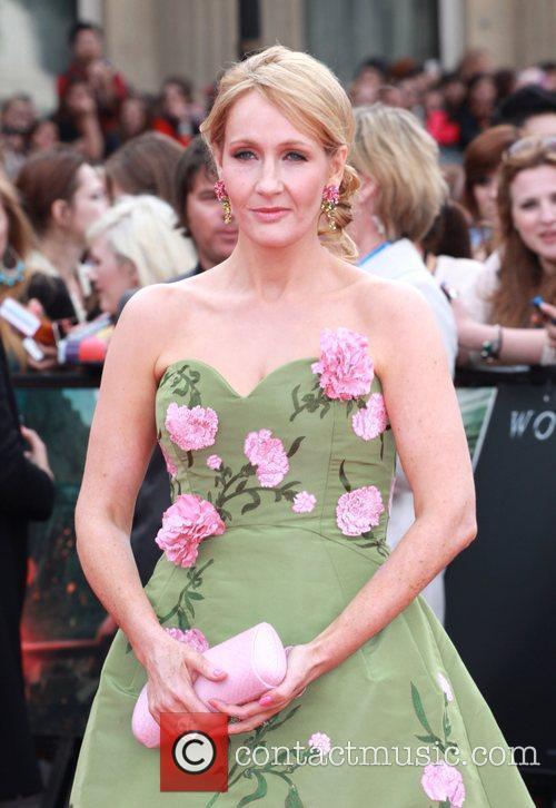 J.K. Rowling, Deathly Hallows Part II Premiere
