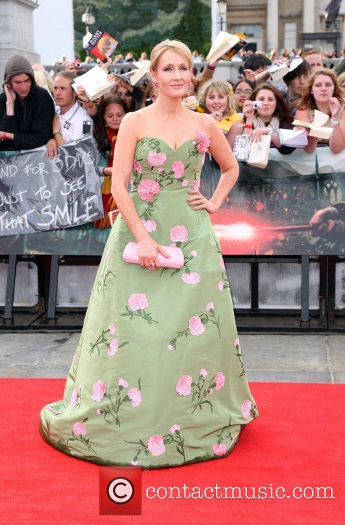 JK Rowling, Harry Potter and the Deathly Hallows Premiere