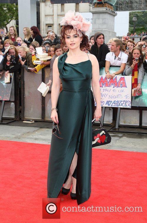 Helena Bonham-Carter The World premiere of Harry Potter...