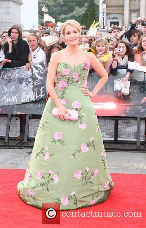 J. K. Rowling, Deathly Hallows Part II Premiere