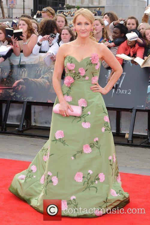 J.K. Rowling, Deathly Hallows Premiere