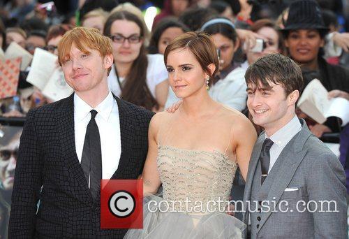 Emma Watson, Daniel Radcliffe and Rupert Grint 2