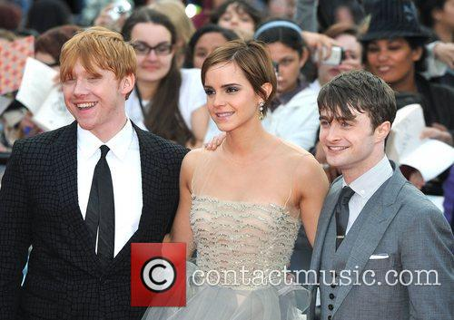 Emma Watson, Daniel Radcliffe and Rupert Grint 4
