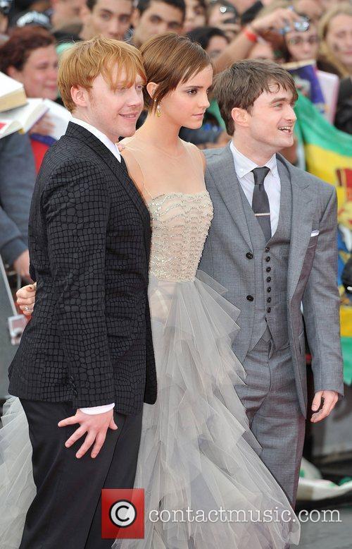 Emma Watson, Daniel Radcliffe and Rupert Grint 5