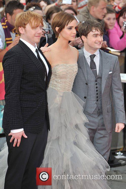 Emma Watson, Daniel Radcliffe and Rupert Grint 9