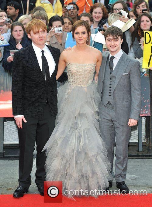 Emma Watson, Daniel Radcliffe and Rupert Grint 7