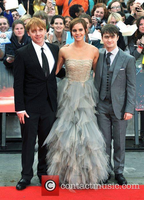 Emma Watson, Daniel Radcliffe and Rupert Grint 6