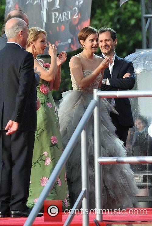 Jk Rowling and Emma Watson 1