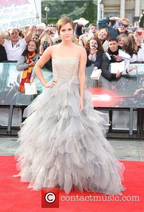 Emma Watson The World premiere of Harry Potter...