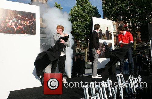 Oliver Phelps and Rupert Grint 1
