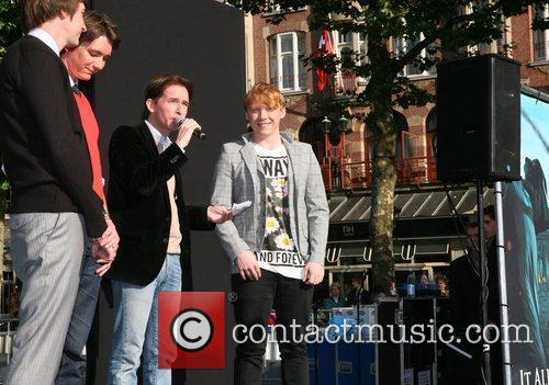 Oliver Phelps and Rupert Grint 5