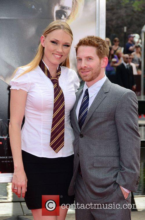 Seth Green and Claire Grant,  New York...