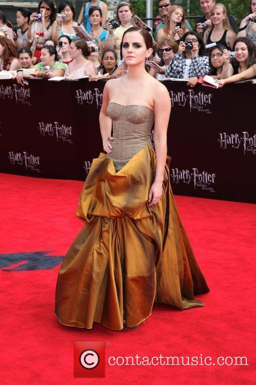 Emma Watson New York premiere of 'Harry Potter...