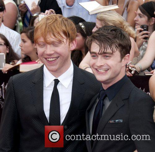 Rupert Grint and Daniel Radcliffe 9
