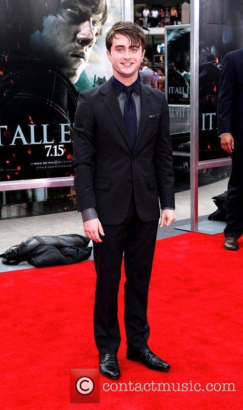 Daniel Radcliffe New York premiere of 'Harry Potter...