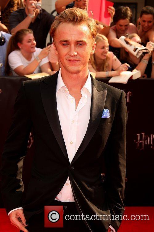 Tom Felton New York premiere of 'Harry Potter...