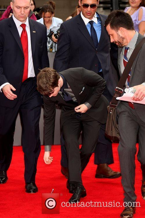 Daniel Radcliffe dropped his marker New York premiere...