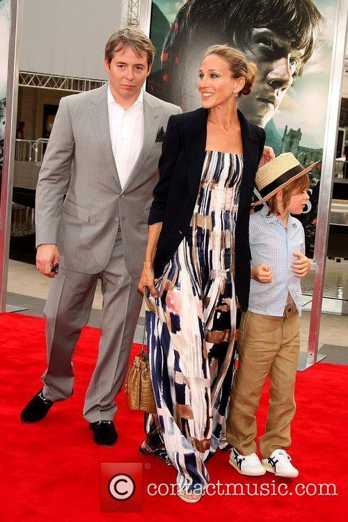 Matthew Broderick, James Wilke and Sarah Jessica Parker 1