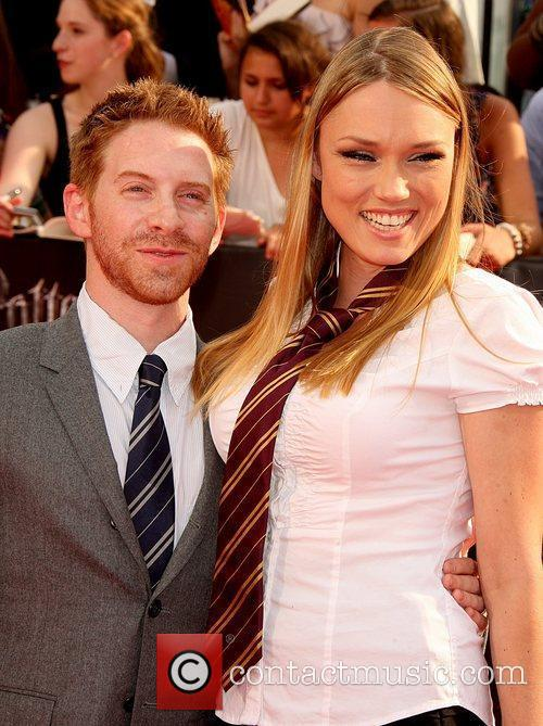 Seth Green and wife Clare Grant New York...