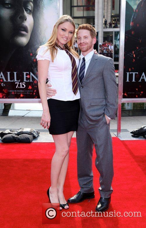 Seth Green and Clare Grant  ,...