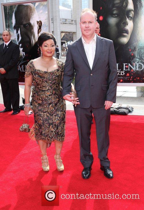 David Yates and Yvonne Walcott  ,...